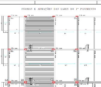 Projeto estrutural (concreto armado) com 4.525m² de área construída.