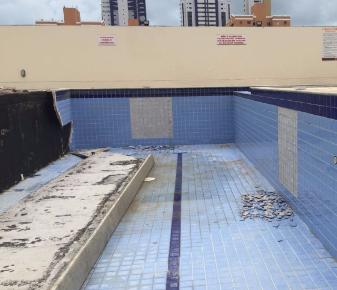 Laudo Técnico referente à manifestações patológicas em piscina.